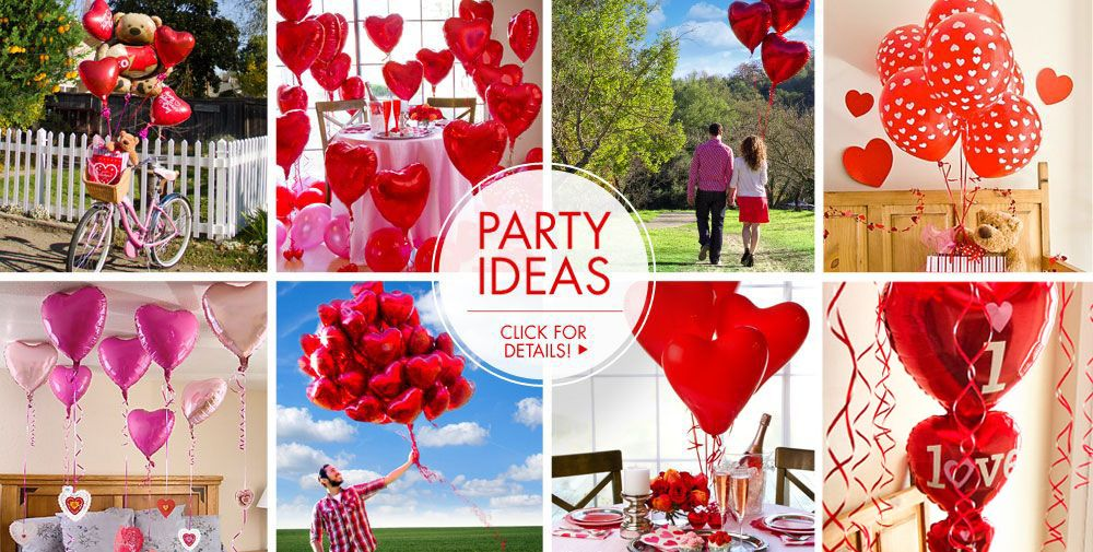 Valentine's Day Balloons – Party Ideas, Click For Details!