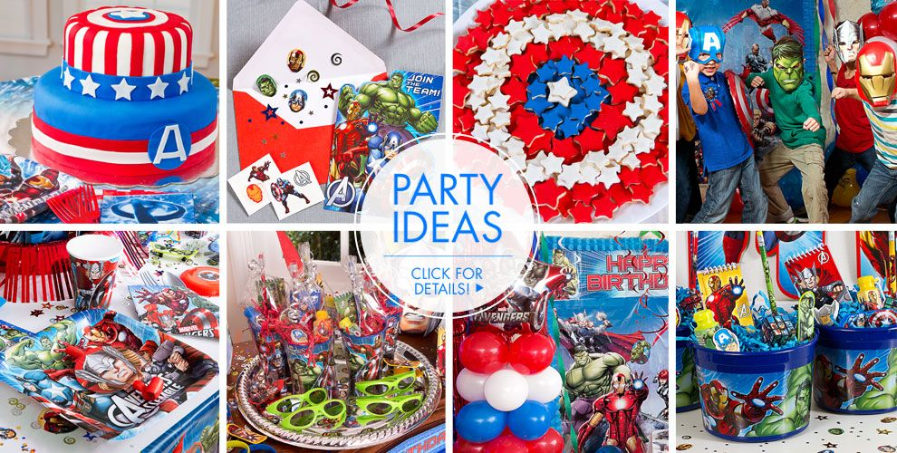 Avengers Party Supplies Birthday City