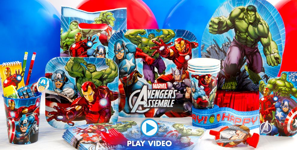 Avengers Party Supplies #1