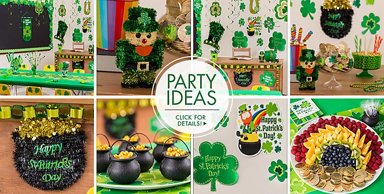 St. Patrick's Day Decorations - Party Ideas