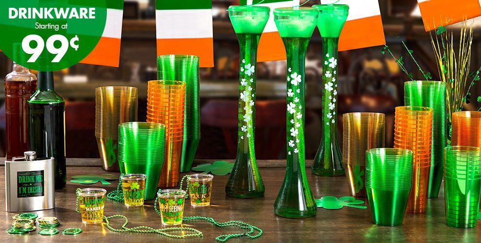 St. Patrick's Day Drinkware, Serveware #1