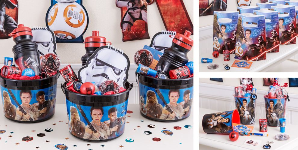 Toys From Party City : Star wars party favors tattoos lightsabers games