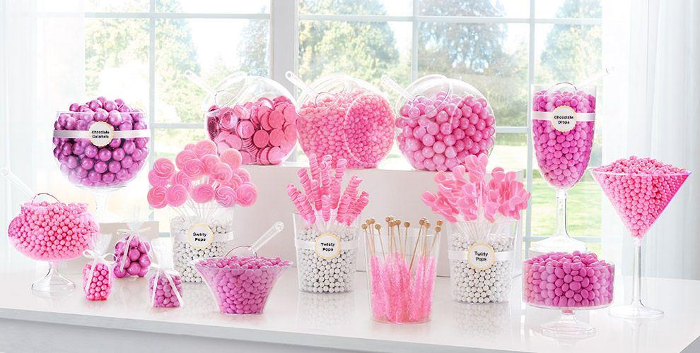 Bright Pink Wedding Supplies