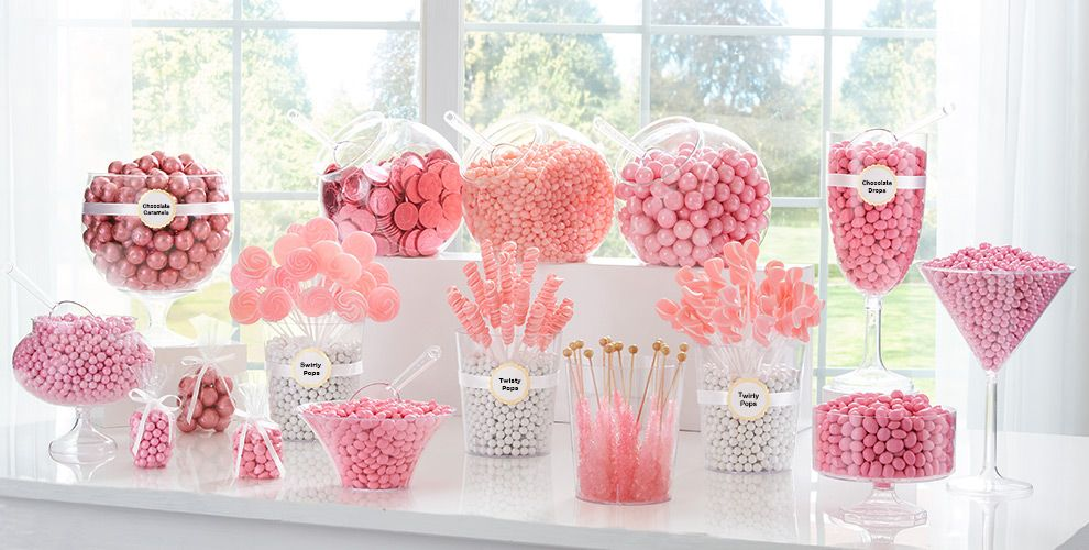 Pink Candy Buffet Now with Chocolate