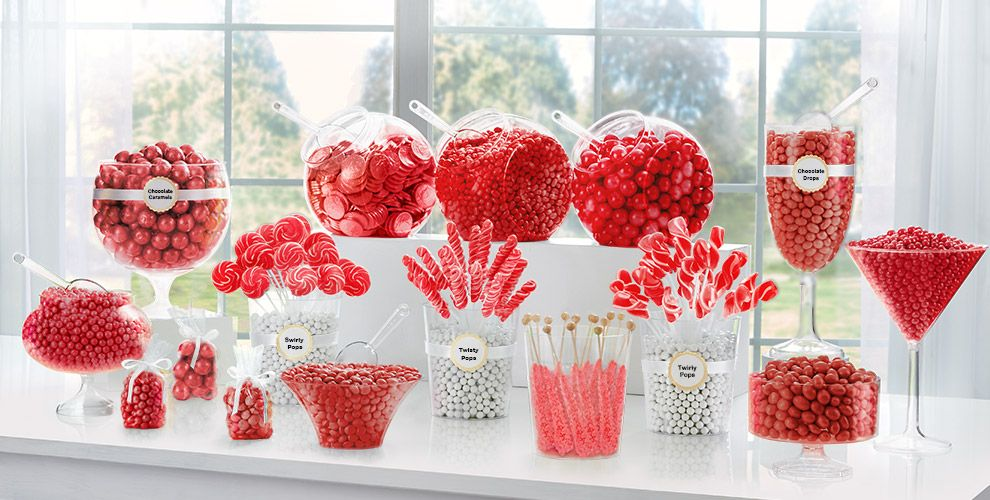 Red Candy Buffet Now with Chocolate
