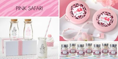 ... Pink Safari Baby Shower Party Supplies. «»