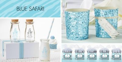 ... Blue Safari Baby Shower Party Supplies. «»