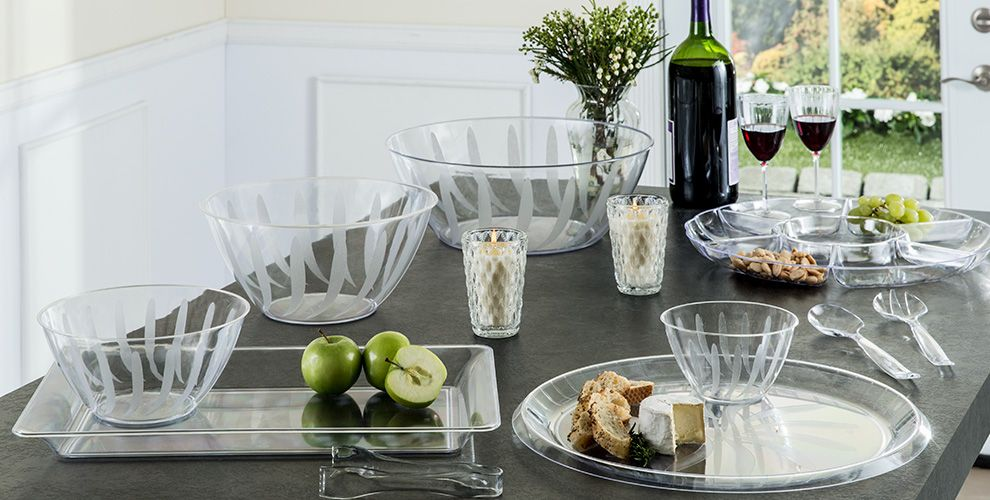 Clear Tableware