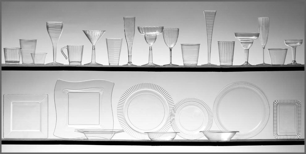 Clear Tableware #1