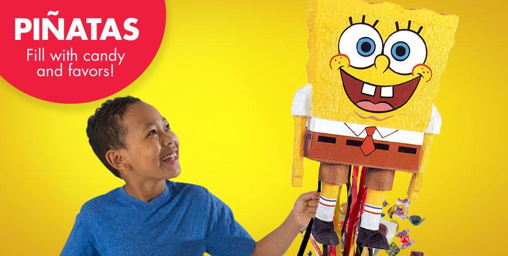 SpongeBob Pinatas