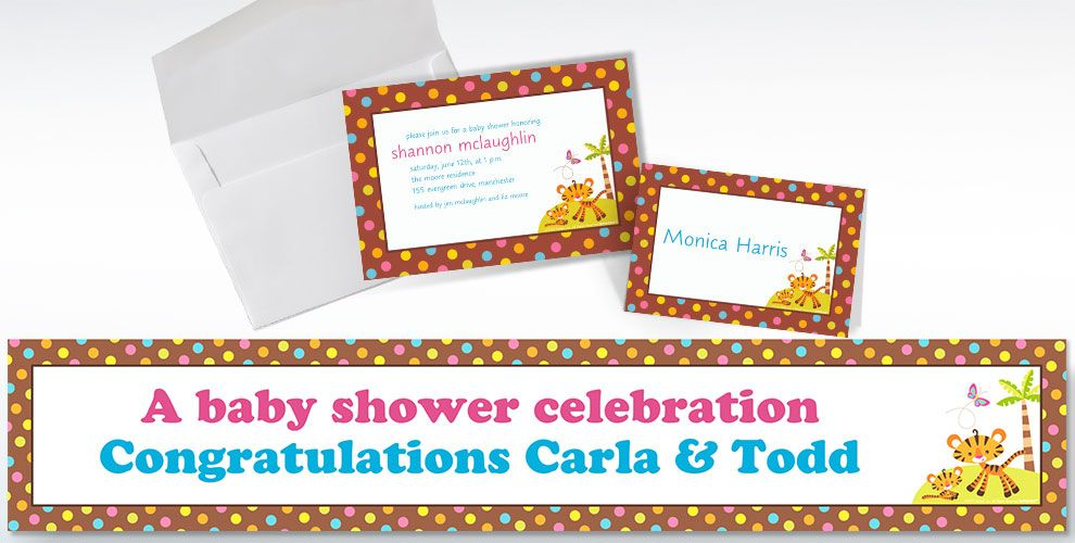 Baby Shower Custom Invitations & Thank You Notes