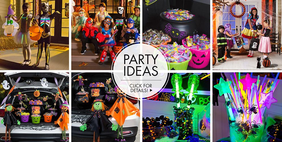 Halloween Trick or Treat Bags & Buckets – Party Ideas