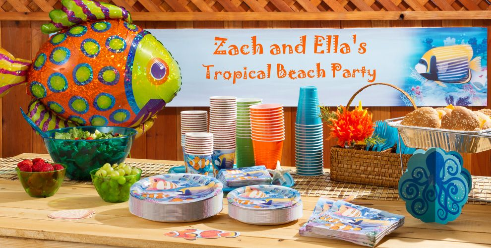 Tropical Summer Party Supplies