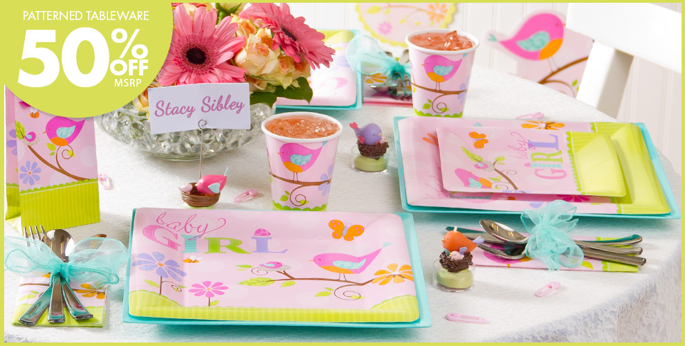 Baby Shower: Tweet Party Supplies