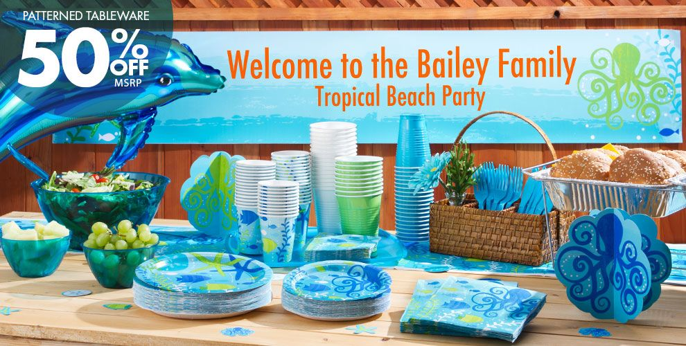 Cool Sea Party Supplies #1