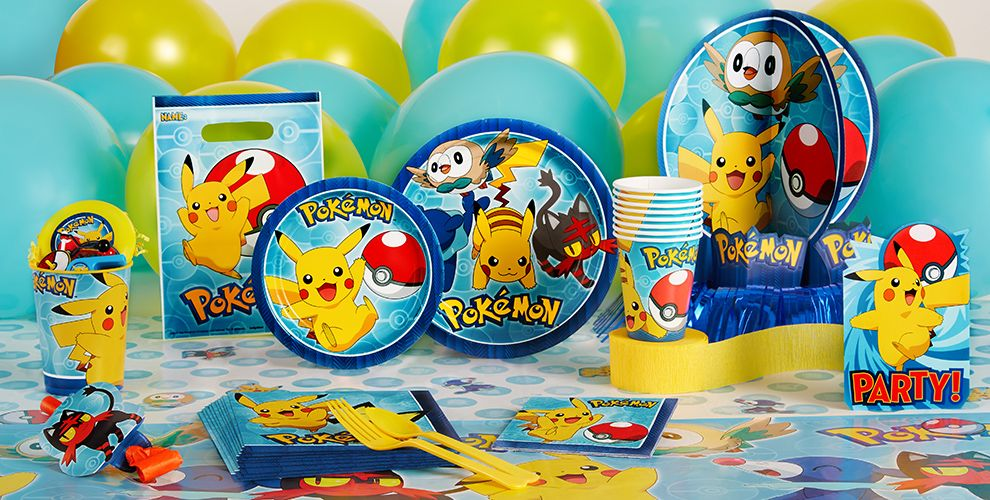 Decorating For A Party pokemon party supplies - pokemon birthday - party city