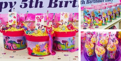 My Little Pony Party Favors Jewelry Hair Accessories Favor