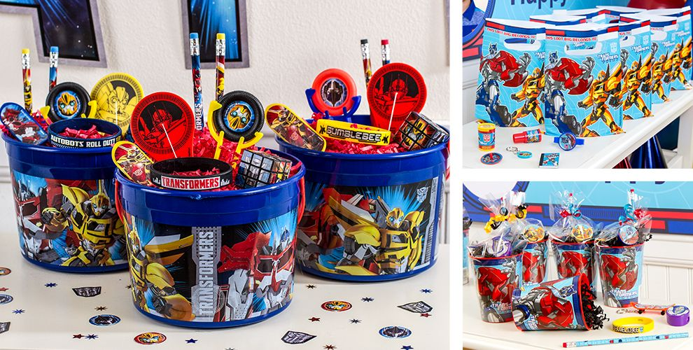 Transformers Party Favors