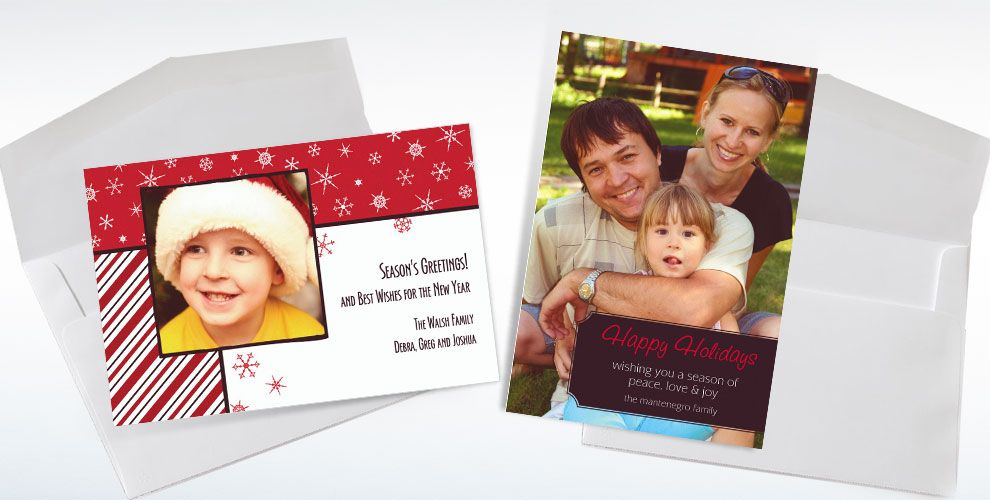 Christmas Photo Cards Invitations & Banners