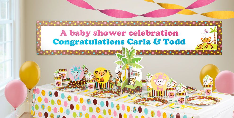 baby shower banners baby shower banner announcements party city