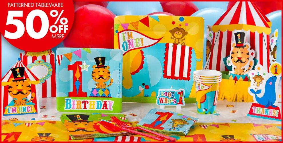 Fisher Price 1st Birthday Party Supplies