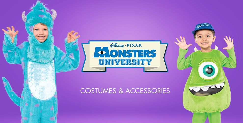 Monsters U Costumes