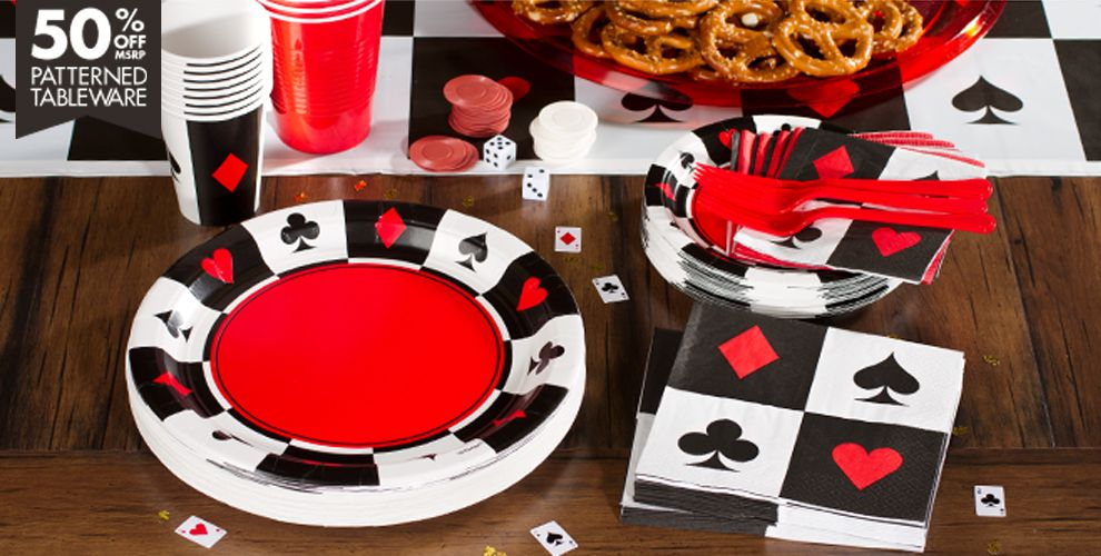 Casino Party Supplies Theme City