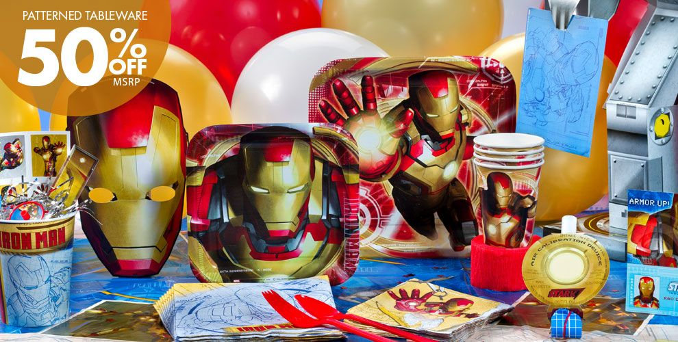 Iron Man Party Supplies