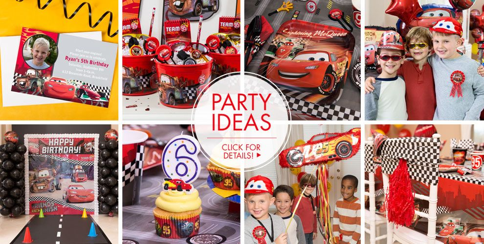 Cars – Party Ideas