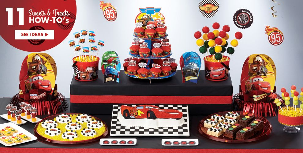 Disney cars party supplies cars birthday ideas party city for Auto decoration shops in rawalpindi