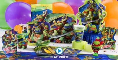 Teenage Mutant Ninja Turtles Party Supplies Ninja Turtle