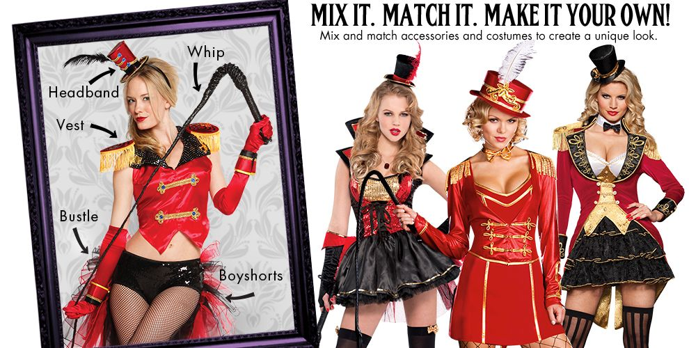Sassy Ringmaster Womens Mix & Match #1