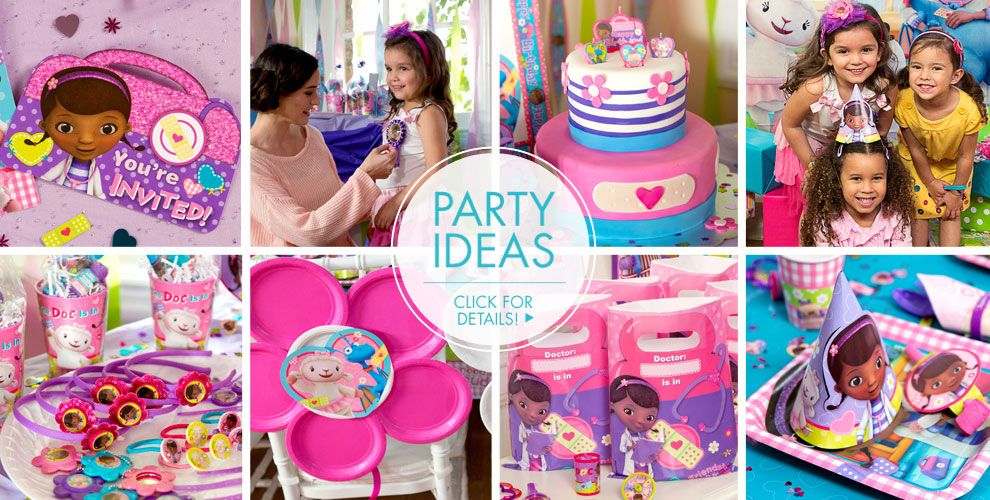 Doc McStuffins – Party Ideas