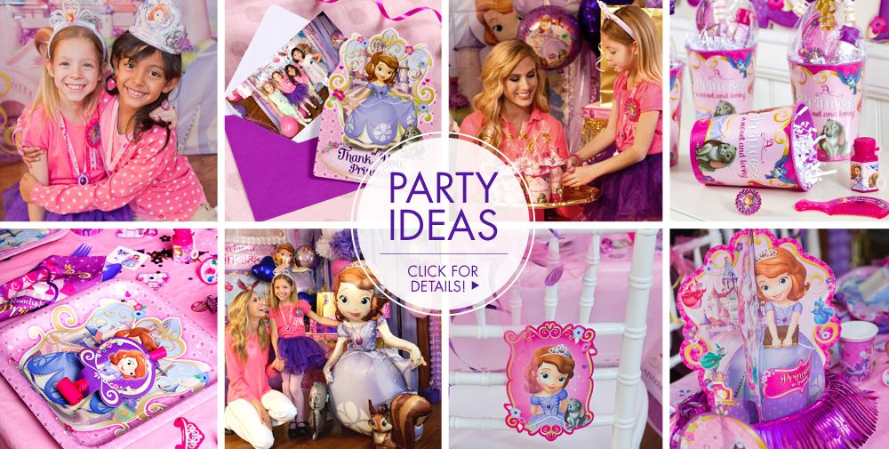 Sophia The First Party Supplies – Party Ideas