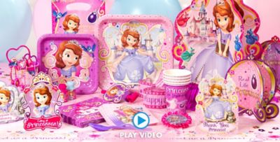 Sofia the First Party Supplies Sofia the First Birthday Ideas