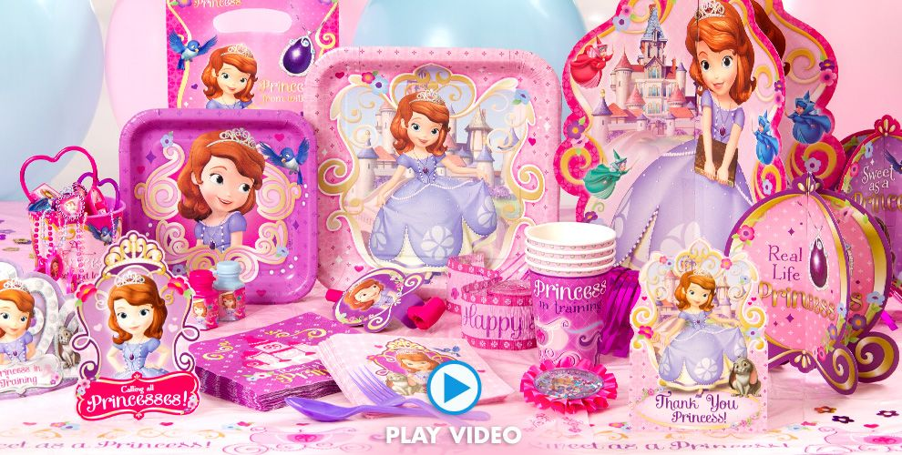 Sofia The First Party Supplies #1