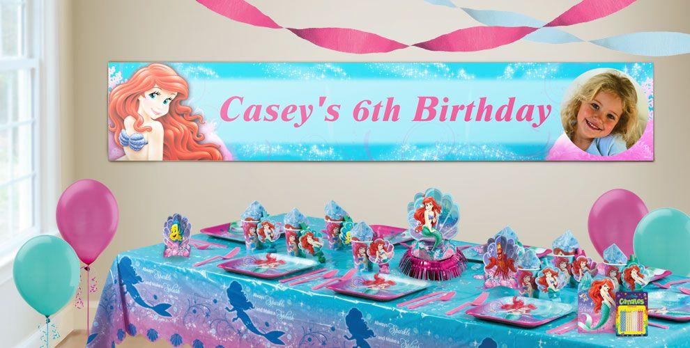 Little Mermaid Banner