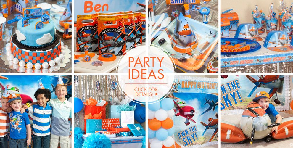 Planes Party Supplies – Party Ideas