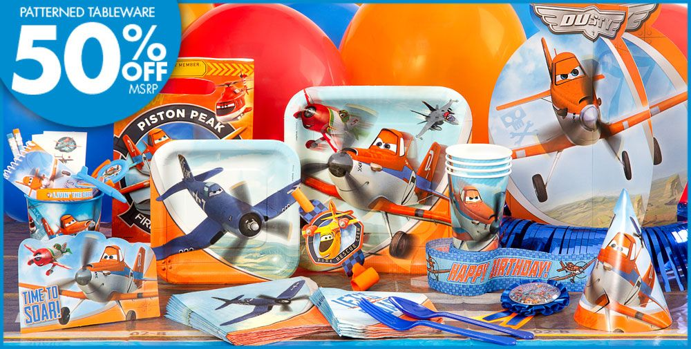 Planes Party Supplies