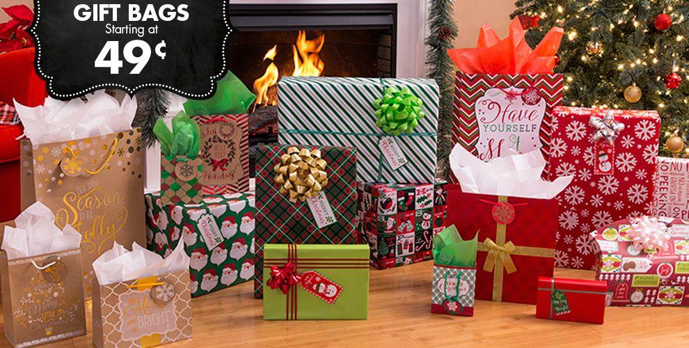 Christmas Gift Bags & Gift Wrap #1