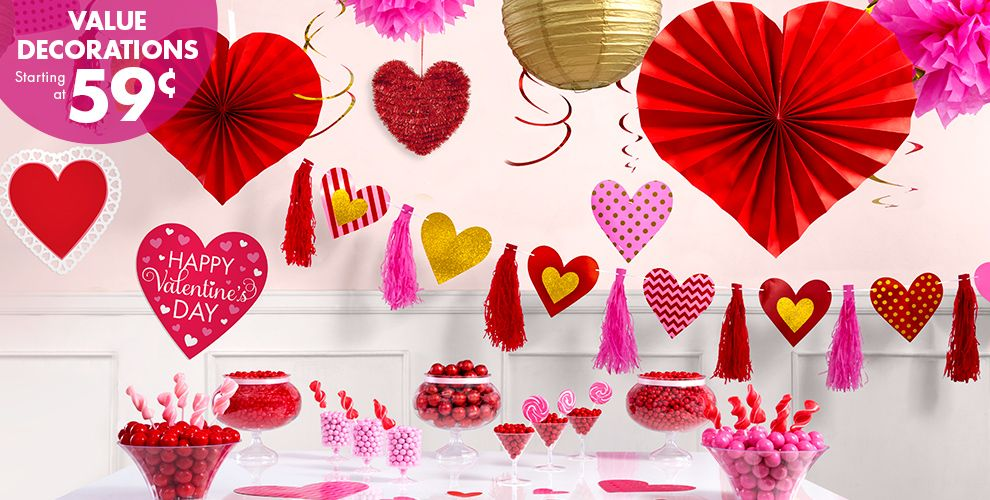 Beautiful Party City Valentine's Day Balloons 89 Cents Selection
