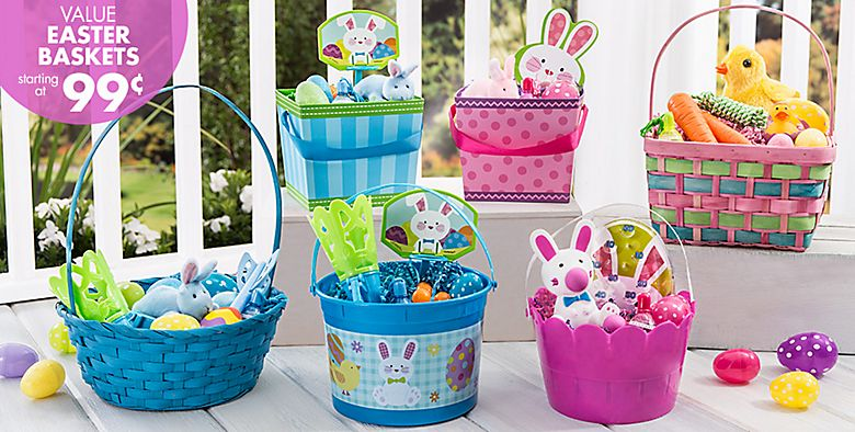 Easter Baskets & Buckets #1