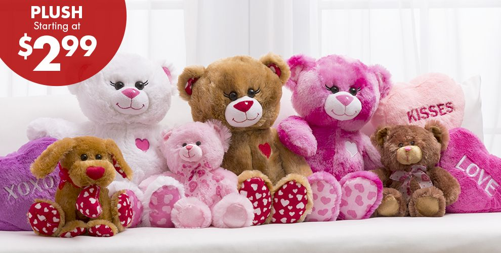Valentine's Day Plush Toys