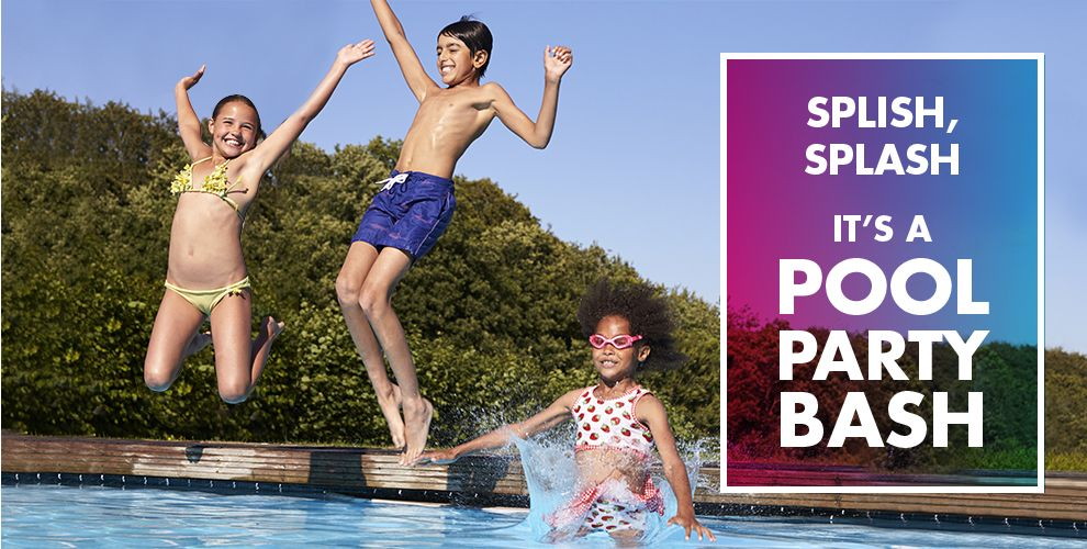 Splish Splash It's a Pool Party Bash