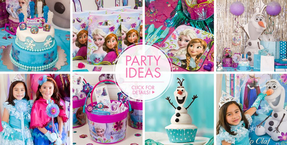 Frozen Party Supplies Frozen Birthday Party Ideas