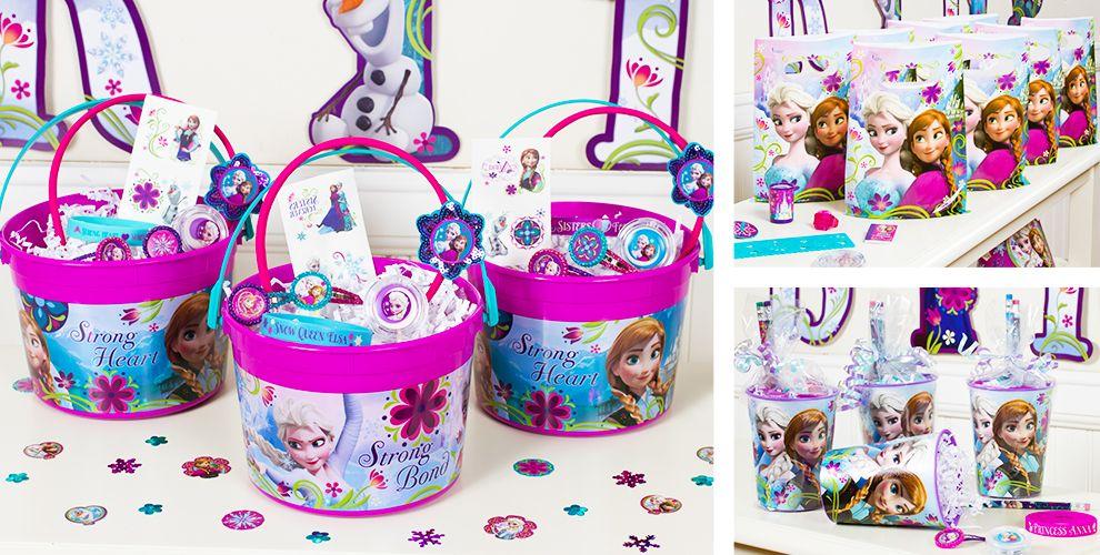 frozen party favors charm bracelets necklaces rings more party city - Party City Party Supplies