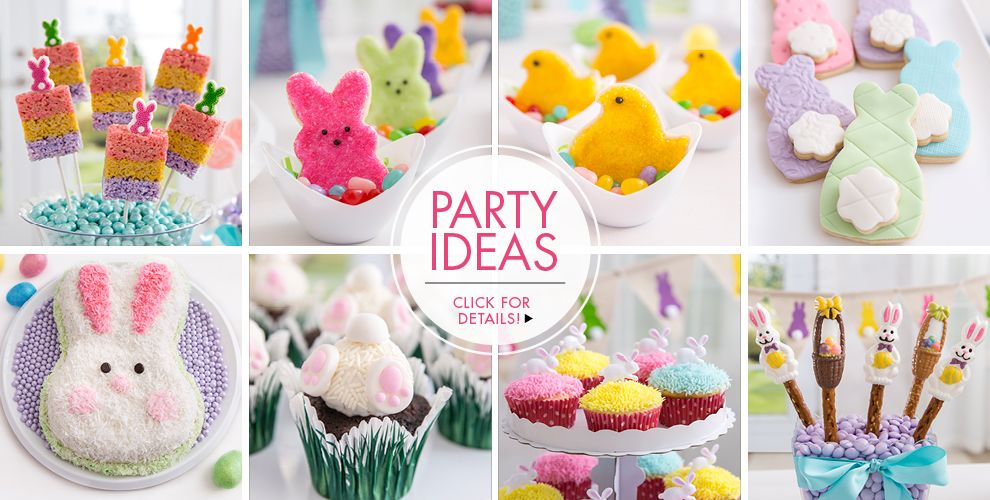 Easter Baking Supplies How–To's, Click for Details!