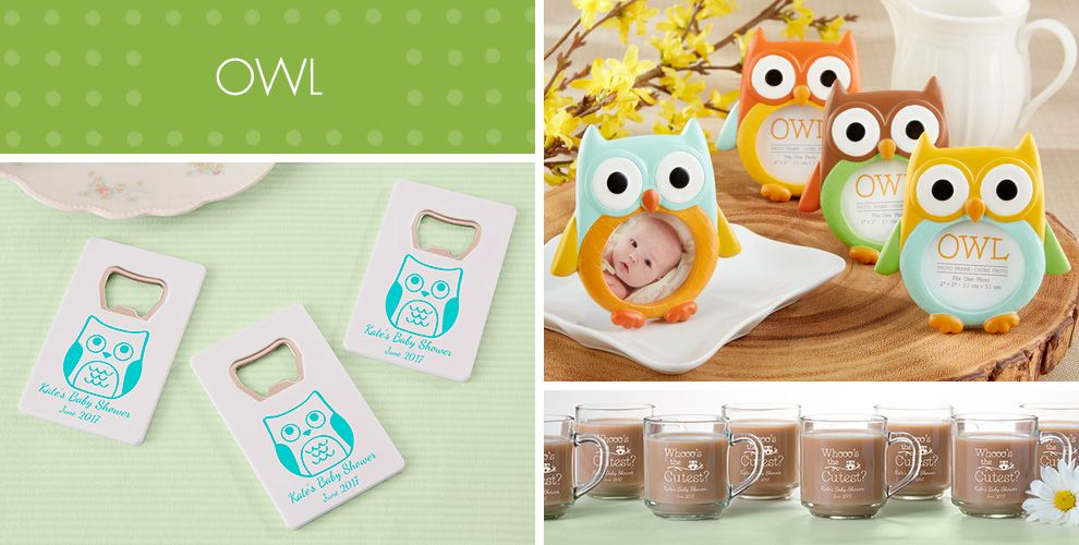 owl baby shower party supplies  party city, Baby shower invitation