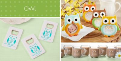 Elegant ... Owl Baby Shower Party Supplies. «»