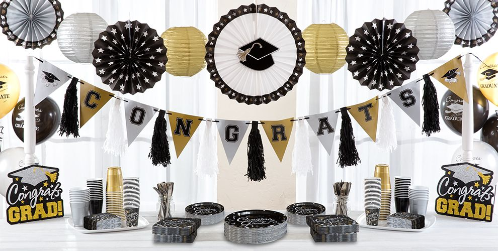 Congrats Graduation Party Supplies